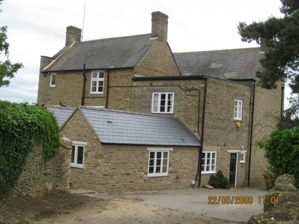 Alterations to listed house